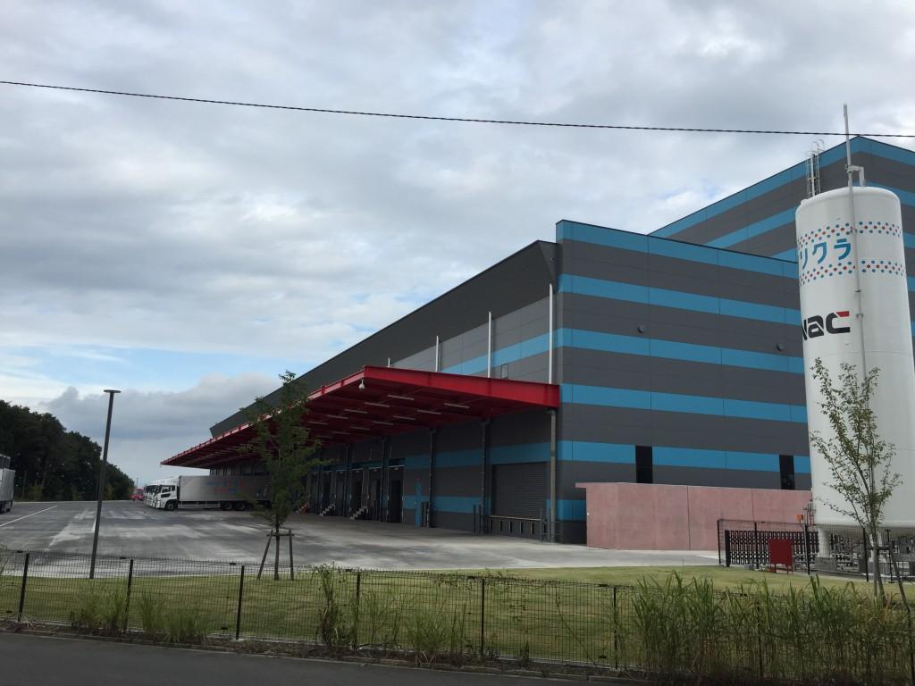 クリクラ本庄工場(16年9月撮影)