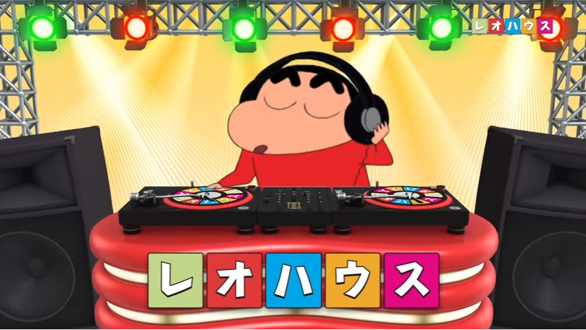 レオハウスはPRに「クレヨンしんちゃん」を起用(YouTubeより)