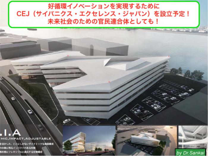 ■革新的医療産業創出推進拠点イメージ図(経産省「東京のグランドデザイン検討委」資料より)